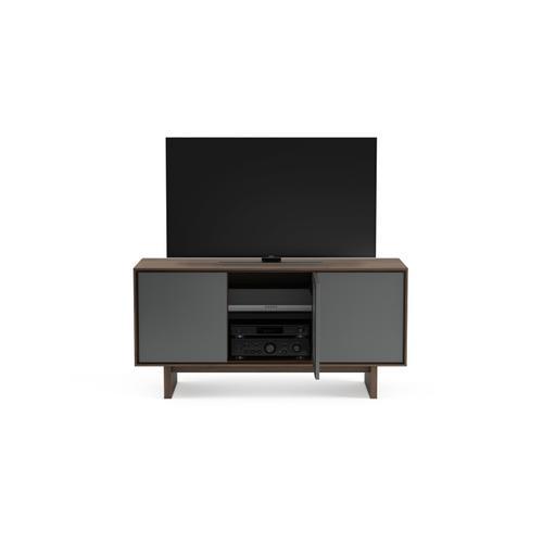 BDI Furniture - Octave 8377GFL Media Console in Toasted Walnut
