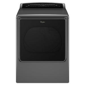 8.8 cu.ft Top Load HE Electric Dryer with Intuitive Touch Controls, Steam Refresh Chrome Product Image