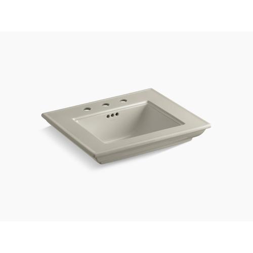 "Sandbar 24"" Console Table Bathroom Sink Basin With 8"" Widespread Faucet Holes"