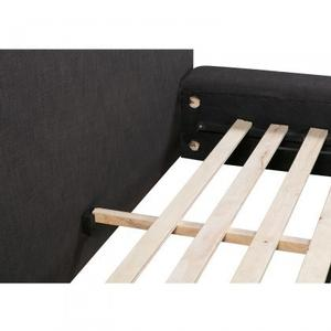 Lauren Upholstered Queen Size Bed - Black