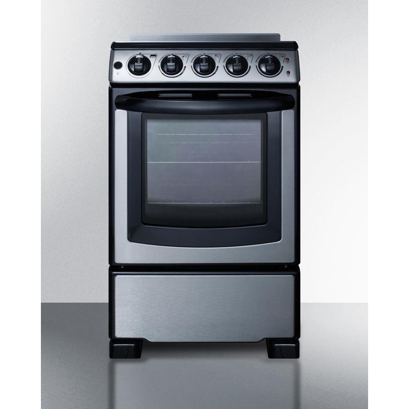 """20"""" Wide Electric Smooth-top Range"""