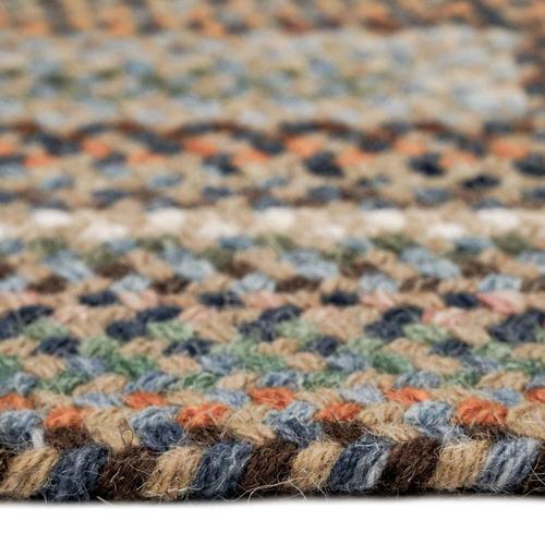 Capel Rugs - Bear Creek Misty Blue - Oval - 8' x 11'