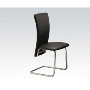 Acme Furniture Inc - Side Chair W/black Pu
