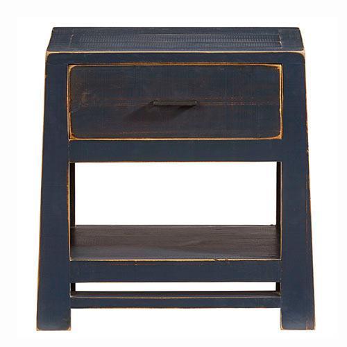 Progressive Furniture - Nightstand - Navy Blue Finish