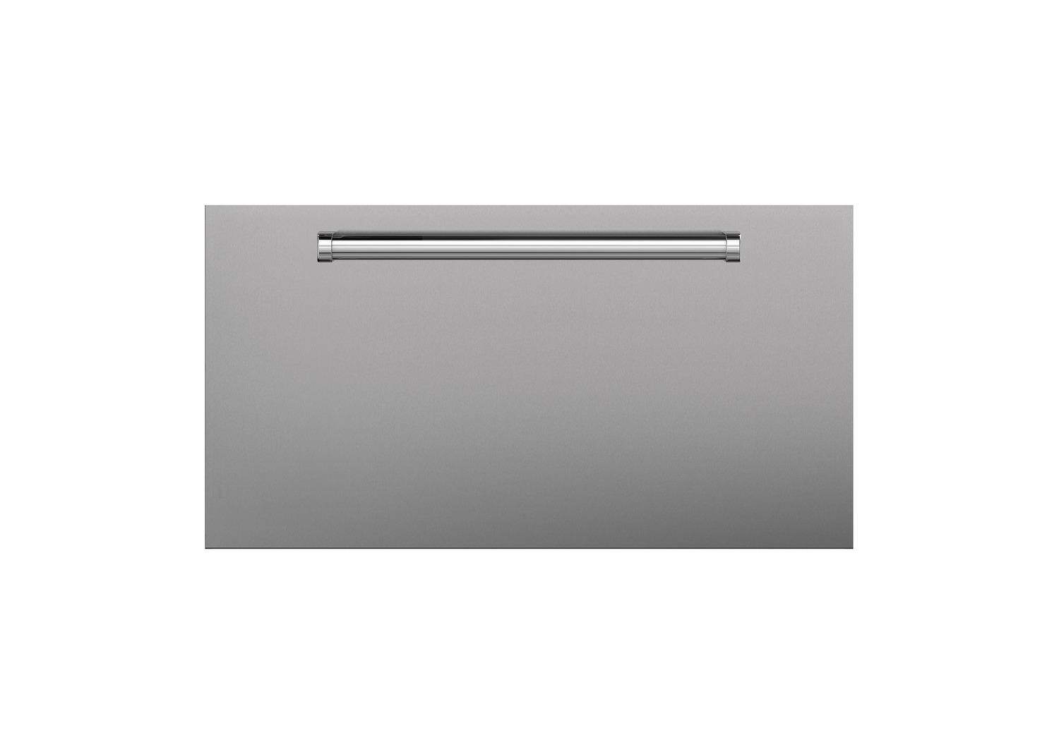 SubzeroStainless Steel Dual Flush Inset Drawer Panel With Pro Handle - Rh