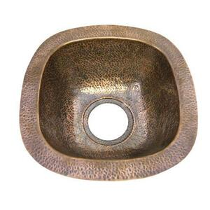 "Trent 12"" Copper Bar u0026 Prep Sink - Antique Copper Product Image"