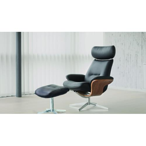 Riva Manual Riva Chair With Footstool
