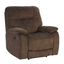 See Details - COOPER - SHADOW BROWN Manual Glider Recliner