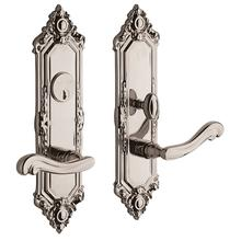 Polished Nickel with Lifetime Finish Westminster Escutcheon Entrance Set