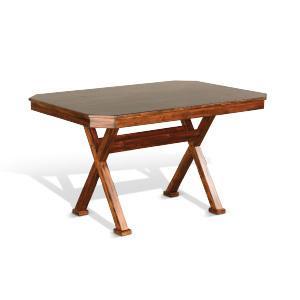 Sunny Designs - Nook Table w/ Cross Base