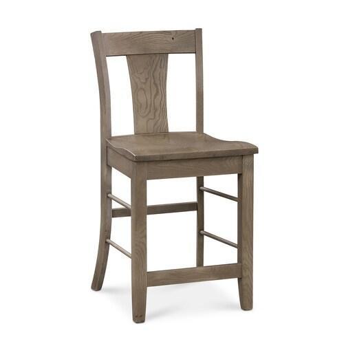 Bassett Furniture - Barnes Oak Counter Stool