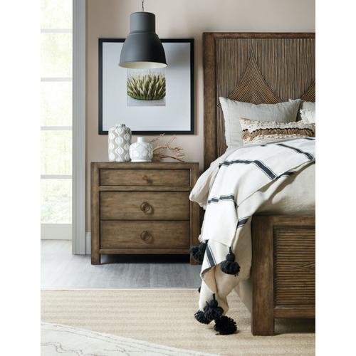 Bedroom Sundance Three-Drawer Nightstand