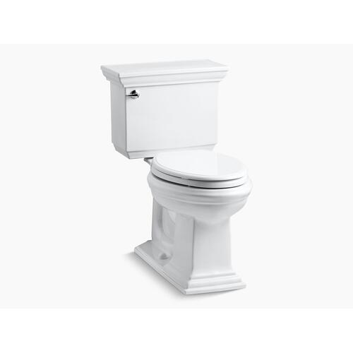 Black Black Two-piece Elongated 1.28 Gpf Chair Height Toilet With Insulated Tank