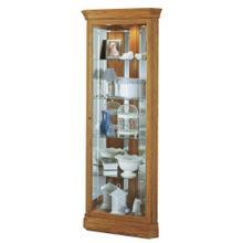 See Details - Howard Miller Hammond Corner Curio Cabinet 680347
