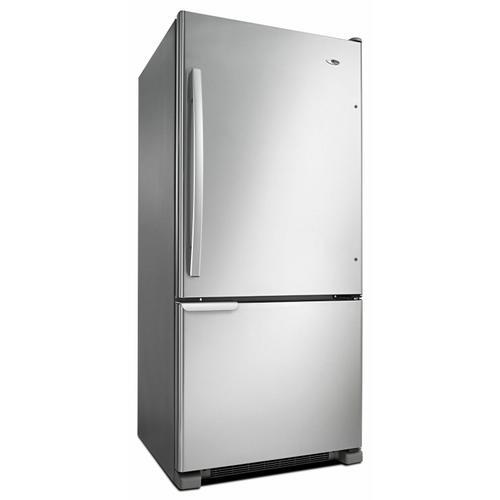 29-inch Wide Bottom-Freezer Refrigerator with Garden Fresh Crisper Bins -- 18 cu. ft. Capacity - Stainless Steel