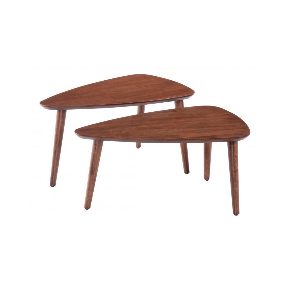 Koah Nesting Coffee Tables Walnut