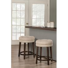 Krauss Backless Swivel Counter Stool - Linen Stone