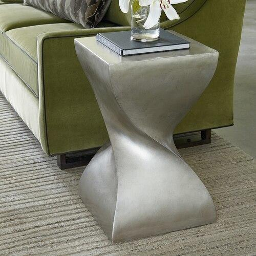 Antiquities Square Twist Side Table