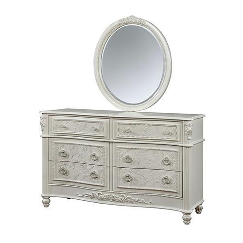 Cm7192d In By Furniture Of America In San Jose Ca Henrietta Dresser