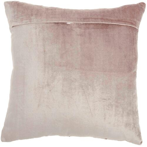 "Luminescence E1057 Nude 18"" X 18"" Throw Pillow"