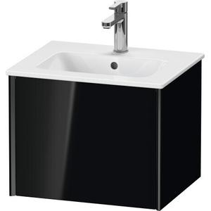 Duravit - Vanity Unit Wall-mounted, Black High Gloss (lacquer)