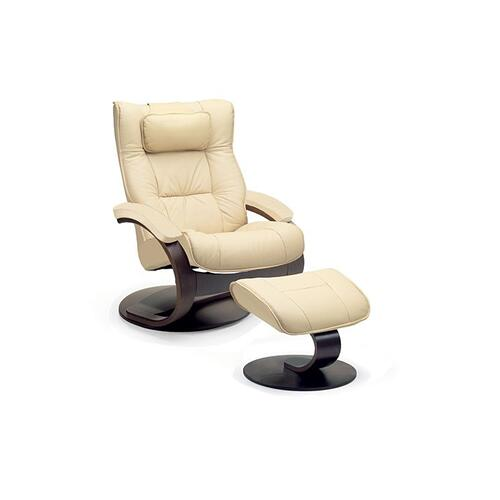 Regent C Manual Small Recliner With Footstool
