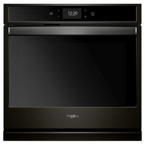 5.0 cu. ft. Smart Single Wall Oven with True Convection Cooking - FINGERPRINT RESISTANT BLACK STAINLESS