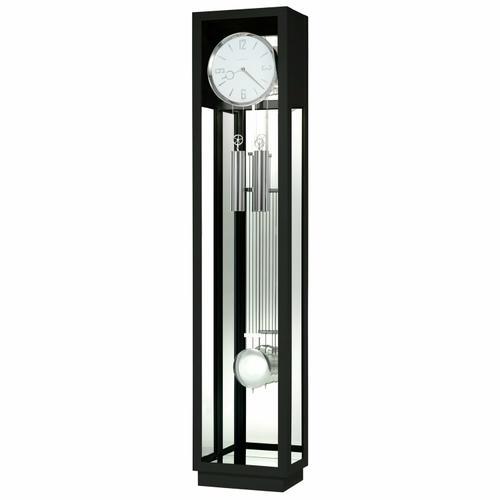 Howard Miller Whitelock II Black Floor Clock 611258