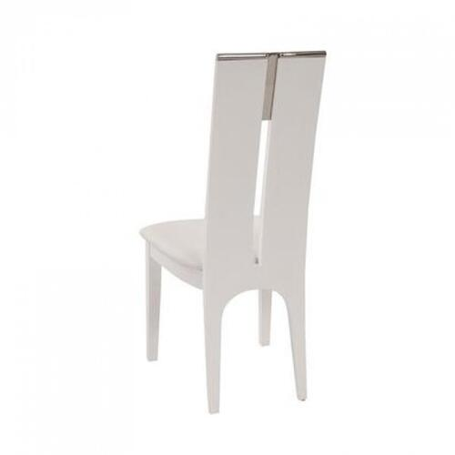 VIG Furniture - Modrest Maxi White Gloss Chair (Set of 2)