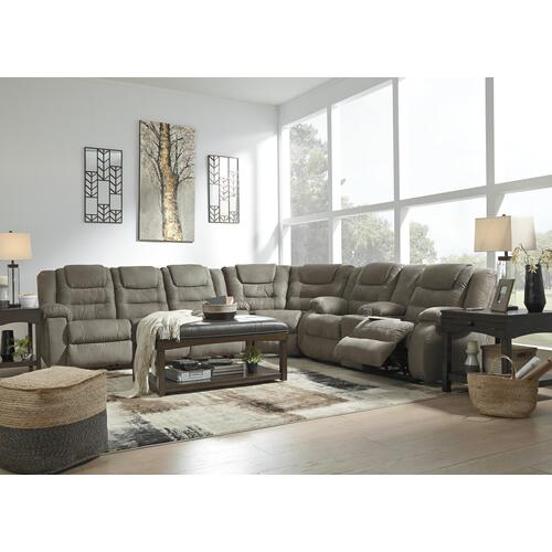 3 Piece Set (Sofa, Loveseat and Wedge)