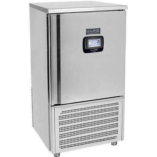 U-Line - 10 Tray Blast Freezer/chiller With Stainless Solid Finish and Right Hand Hinge Door Swing (230v/50 Hz Volts /50 Hz Hz)