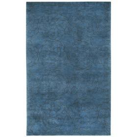 Maroc Dark Blue - Rectangle - 7' x 9'