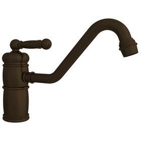 English Bronze Single Handle Kitchen Faucet
