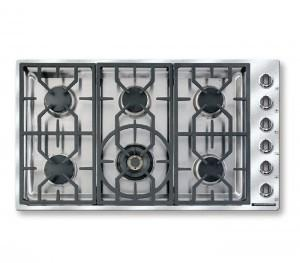 "Vitesse Sealed-burner Cooktops 36"" Natural Gas"