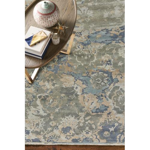 Astbury Blue Multi Hand Knotted Rugs