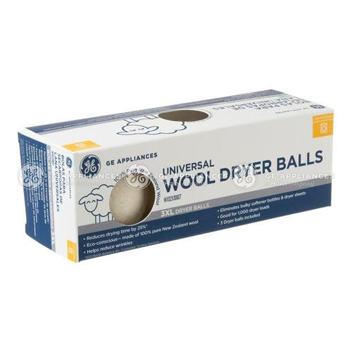 GE® Universal Wool Dryer Balls - 3 Pack