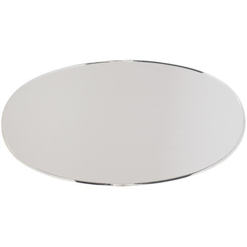 Gallery - Calista Metal Oval Cocktail Table in Silken Pearl (388)