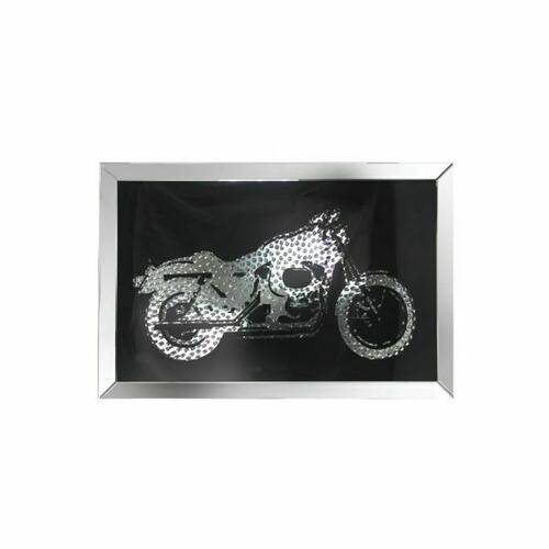 ACME Nevina Wall Art - 97317 - Mirrored & Crystal Bike