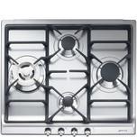 SmegSmeg Cooktop Stainless steel SR60GHU3