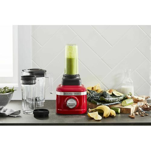 Gallery - K150 3 Speed Ice Crushing Blender with 2 Personal Blender Jars - Passion Red
