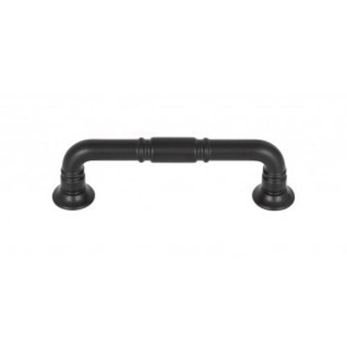 Top Knobs - Kent Pull 3 3/4 Inch (c-c) - Flat Black