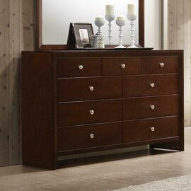 See Details - Serenity Rich Merlot Nine-drawer Dresser