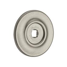 Satin Nickel Knob Back Plate