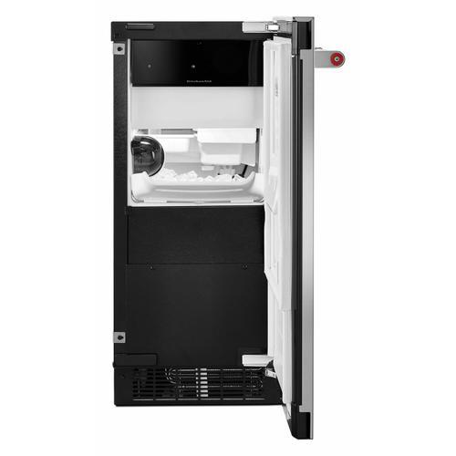 KitchenAid - KitchenAid® 15'' Automatic Ice Maker with PrintShield™ Finish - Stainless Steel with PrintShield™ Finish