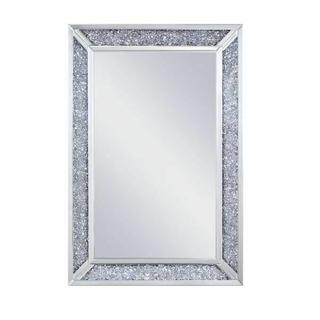 ACME Noralie Wall Decor - 97572 - Mirrored & Faux Diamonds