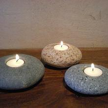 Tea Light Pebbles