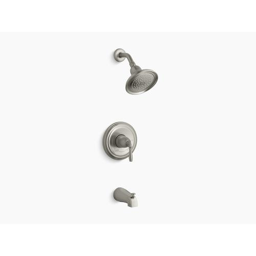 Kohler - Vibrant Brushed Nickel Rite-temp Bath and Shower Trim With Npt Spout and 2.5 Gpm Showerhead