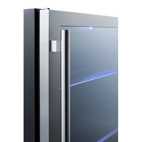 "Summit - 24"" Wide Built-in Beverage Cooler"