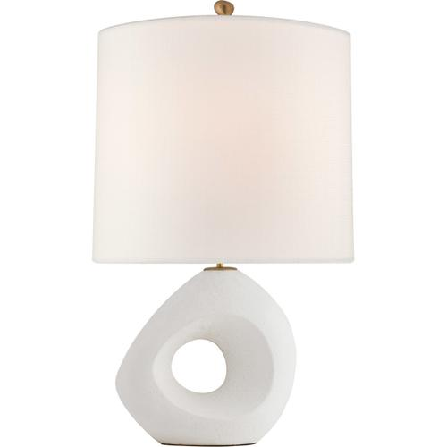 AERIN Paco 31 inch 100 watt Marion White Table Lamp Portable Light, Large