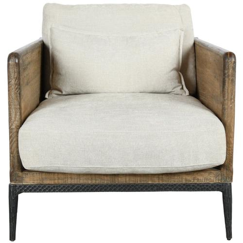 Classic Home - Renfrow Accent Chair Ivory